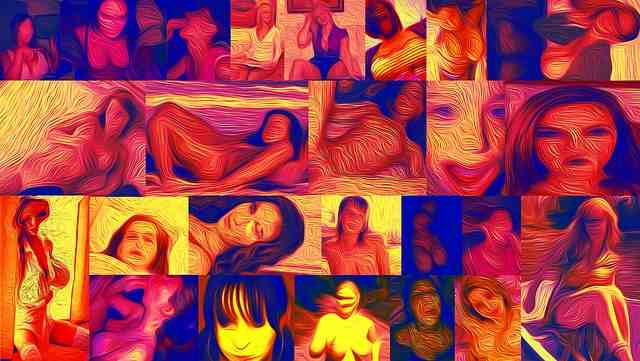 sexy donne collage