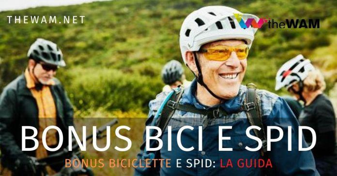 Bonus biciclette e spid la guida