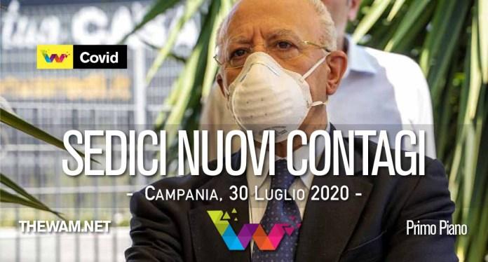 Campania, 14 positivi. De Luca: se aumentano misure drastiche