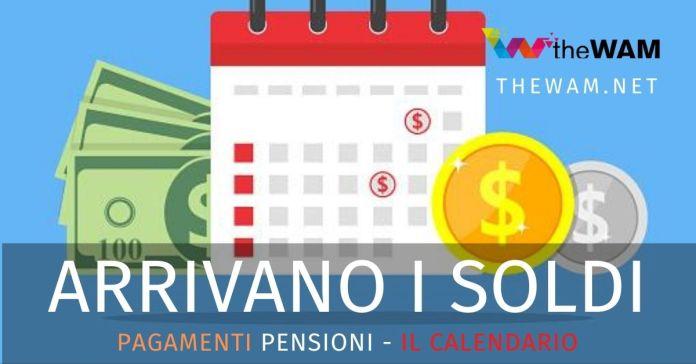 Pensioni settembre 2020 pagamento agosto