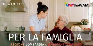 Bando per assistenti familiari della Regione Lombardia. Requisiti e domanda