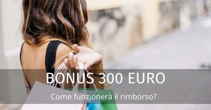 Bonus 300 euro: lotta al contante e cashback. Rimborso per spese online?