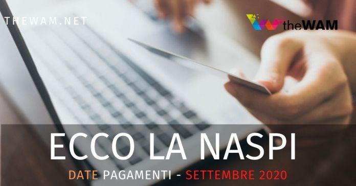 Le date dei pagamenti della Naspi prevista a settembre