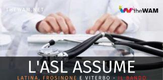 Lazio, Asl assumono a tempo indeteminato: bando e requisiti