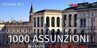 Comune di Milano. In arrivo 1000 assunzioni entro il 2022 e nuovi bandi
