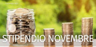 Cedolino NoiPa stipendio novembre online: date dei pagamenti