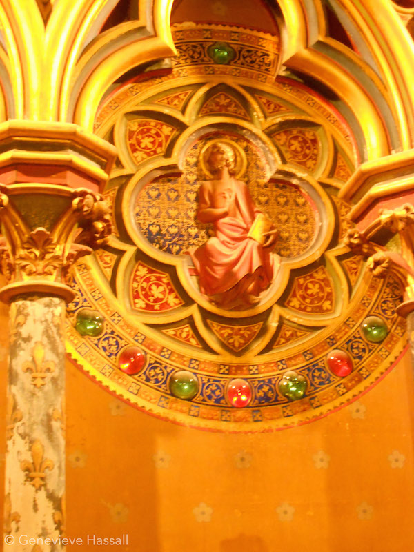 Sainte Chapelle lower chapel Paris