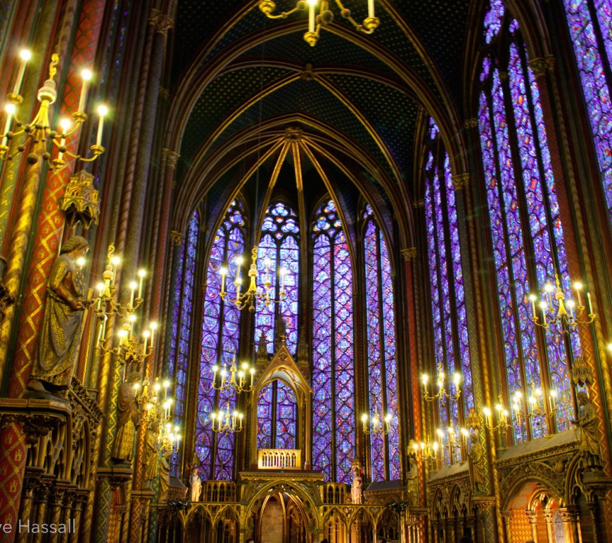 Sainte Chapelle Upper Chapel Paris
