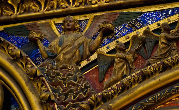 Sainte Chapelle Upper Chapel Paris