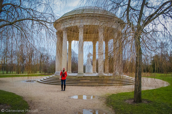 Temple of Love Gardens of Versailles France