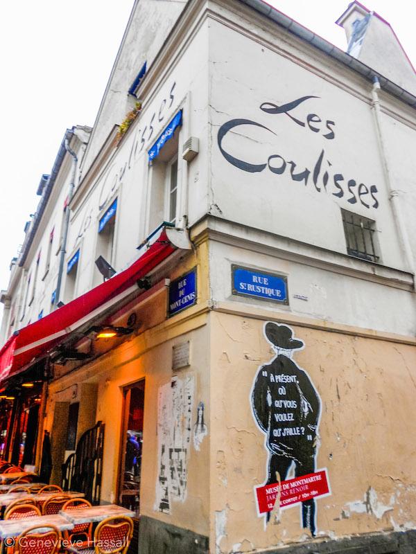 Les Coulises Montmartre