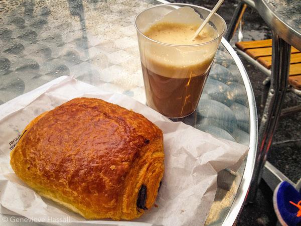 Coffee & Croissant in Paris