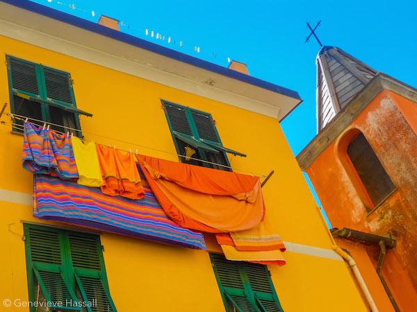 Colourful Building in Riomaggiore Cinque Terre