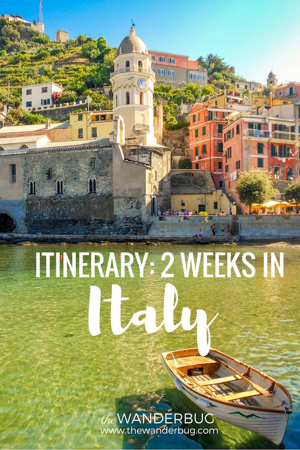 Itinerary 2 Weeks in Itay