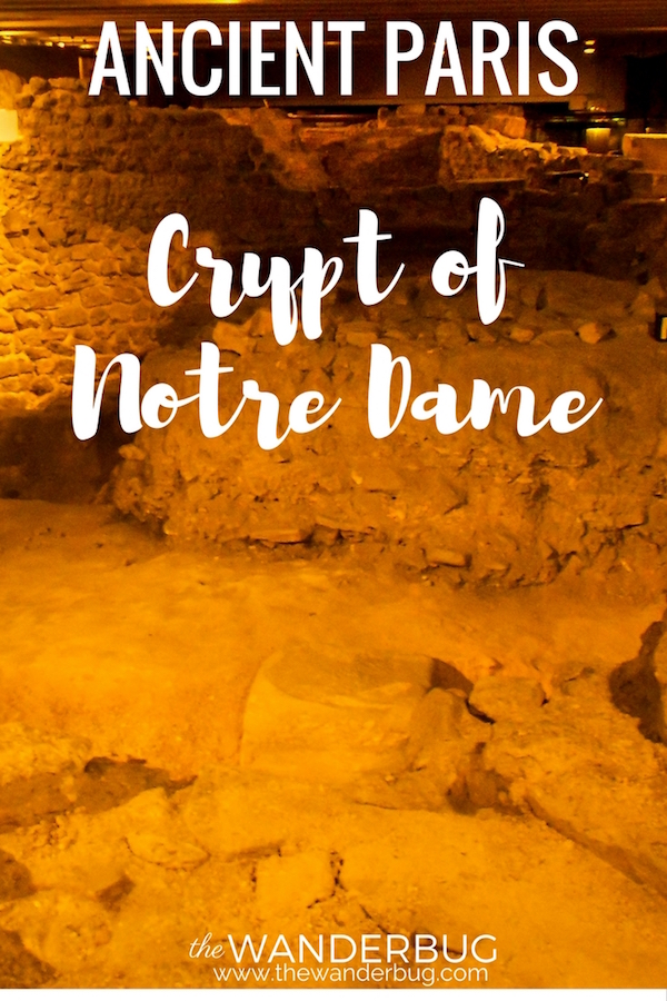 Image of Crypt of Notre Dame