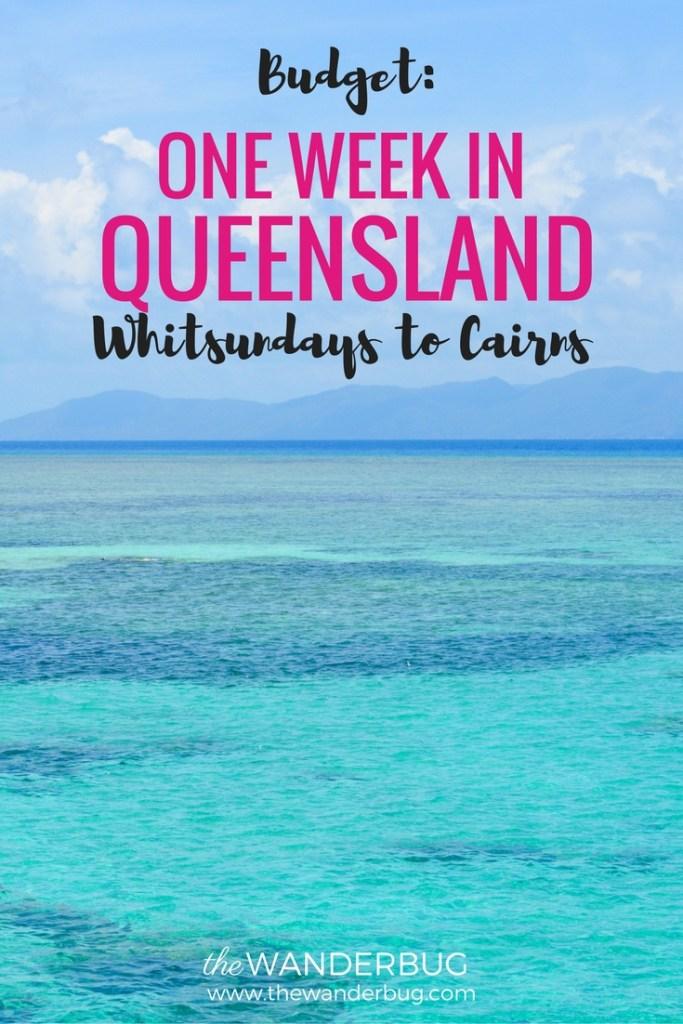 Budget One Week in Queensland