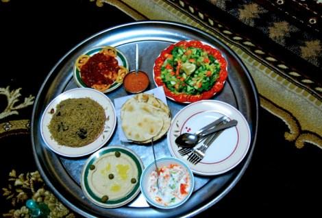 AF Oman -- Omani food