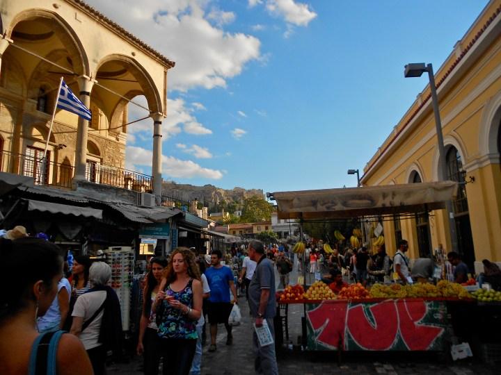 Monastiraka Square Athens