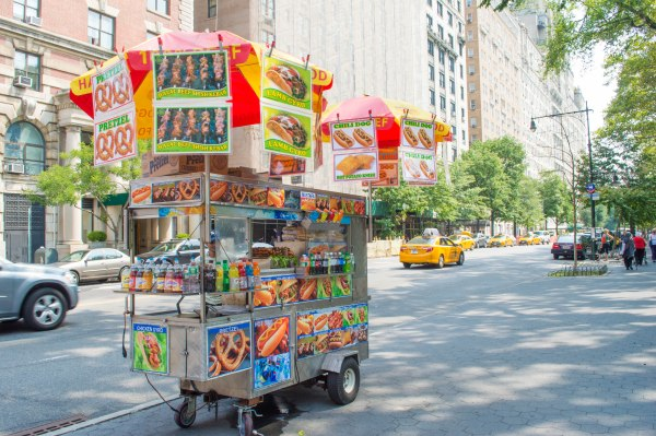 Upper West Side Street Food Cart NYC
