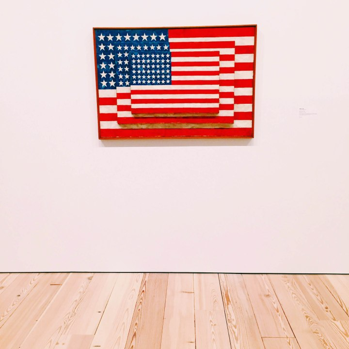 Three Flags by Jasper Johns | Whitney Museum of American Art