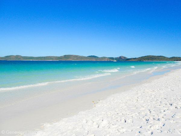 Image of Whitehaven Beach, Best Beach in Australia Whitsundays Queensland