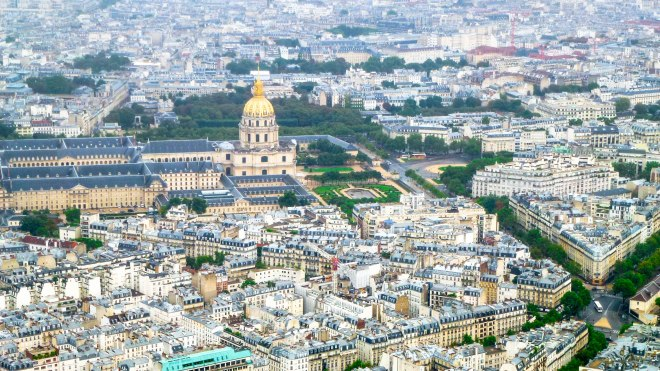Invalides from Eiffel Tower