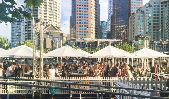 Arbory Afloat Floating Bar Melbourne
