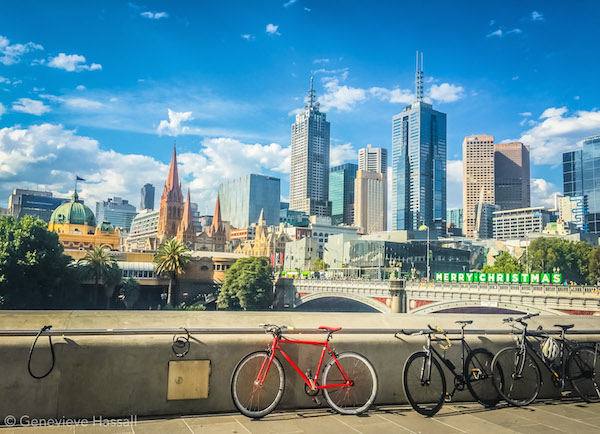 beautiful Melbourne in summer