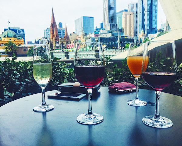 Drinks at Fatto in Melbourne