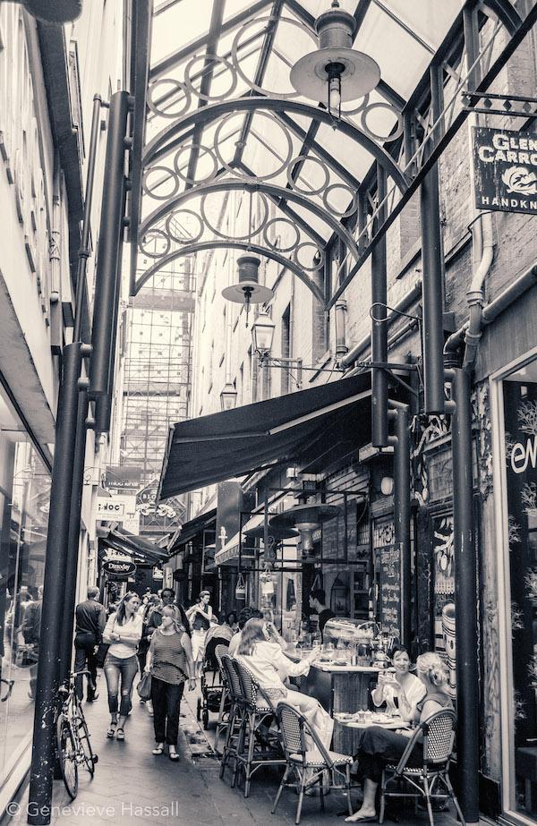 Melbourne's laneways & arcades