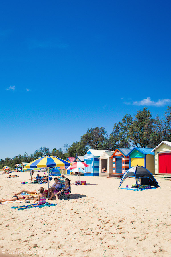 Dromana Beach Mornington Peninsula Victoria Australia