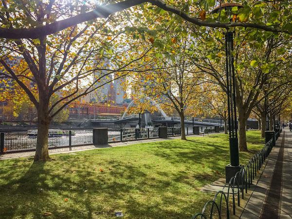 Southbank Melbourne Autumn