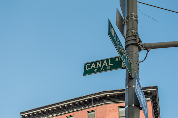 Canal St Chinatown NYC