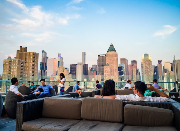 Press Lounge Rooftop Bar Hell's Kitchen NYC