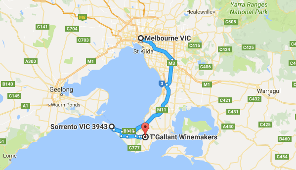 Day trip from Melbourne to Mornington Peninsula