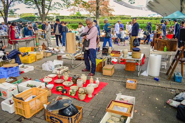 Yoyogi Park Flea Market Tokyo