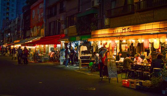 Izakaya Bars around Senso Ji Asakusa Tokyo