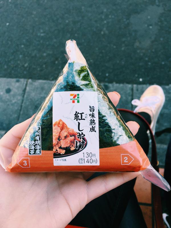 7-11 Sushi Snacks in Tokyo