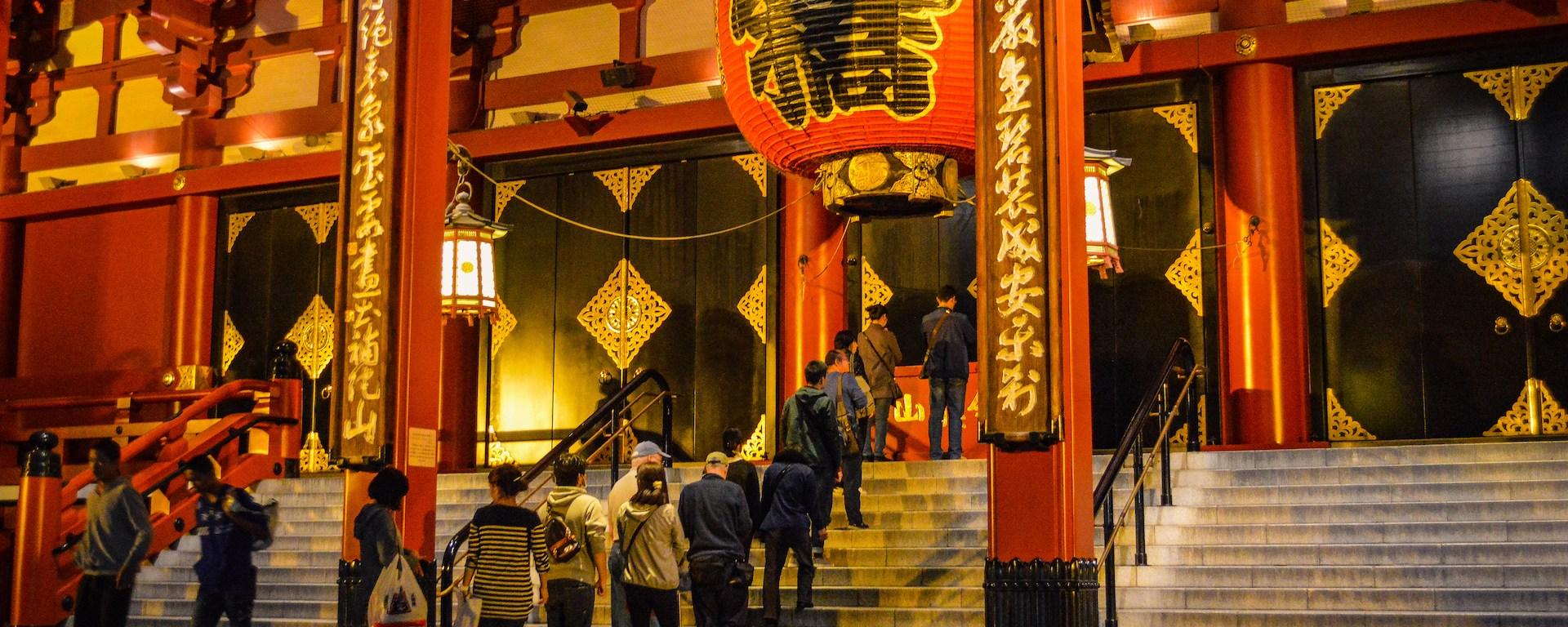 Photo of Senso-Ji Temple in Asakusa, Tokyo Japan