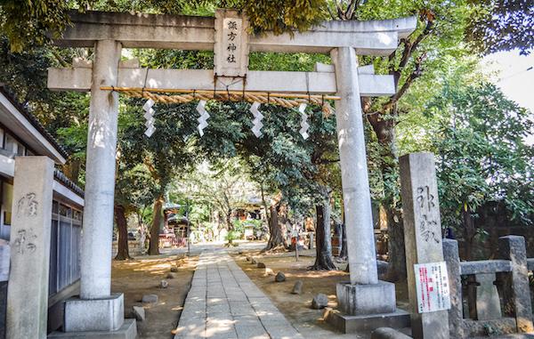Temple in Yanaka Tokyo