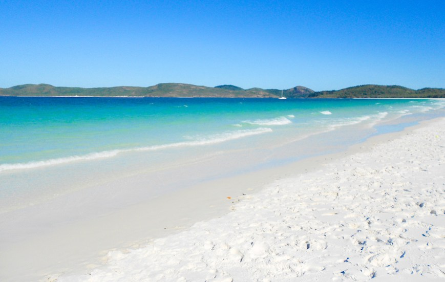 Photo of Whitehaven Beach in Queensland
