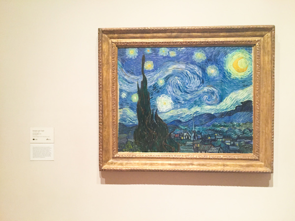 Moma museum nyc new york city museums and galleries the starry night van gogh