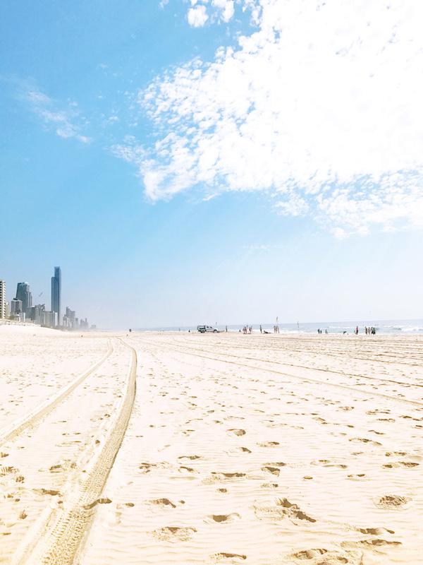 Sunny day on the gold coast