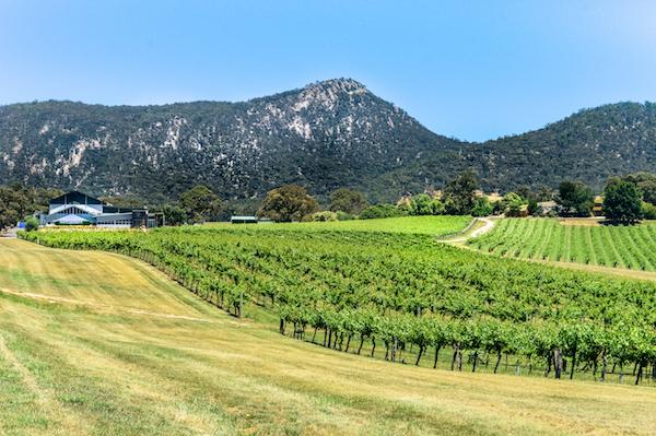 Mt Langi Ghiran Estate Winery in the Grampians Victoria Australia