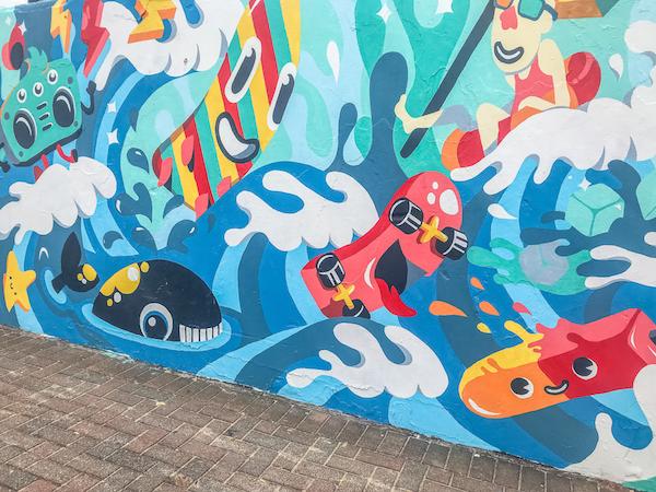 bondi beach street art sydney