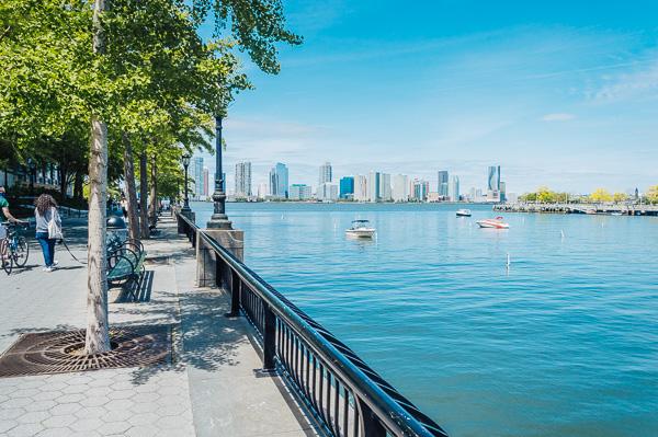 Rockefeller Park Tribeca NY