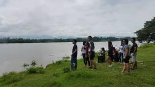 (c) Joms Suarez Jose. By the river bank