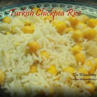 Grandmother's Turkish Chickpea Rice Recipe!!!