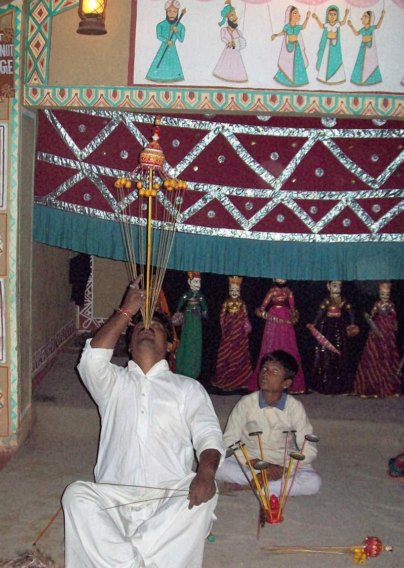 Acts in chowki dhani, jaipur India