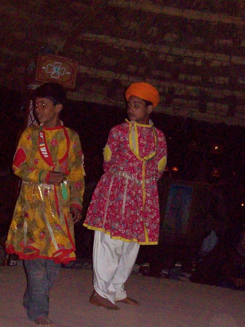 Dance Act in chowki dhani, jaipur India